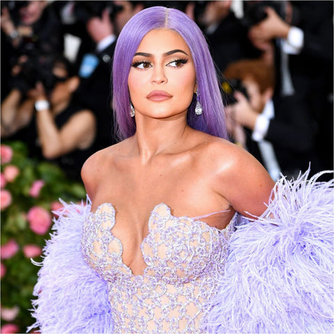 Met Gala Dreams Purple Lace Front Wig