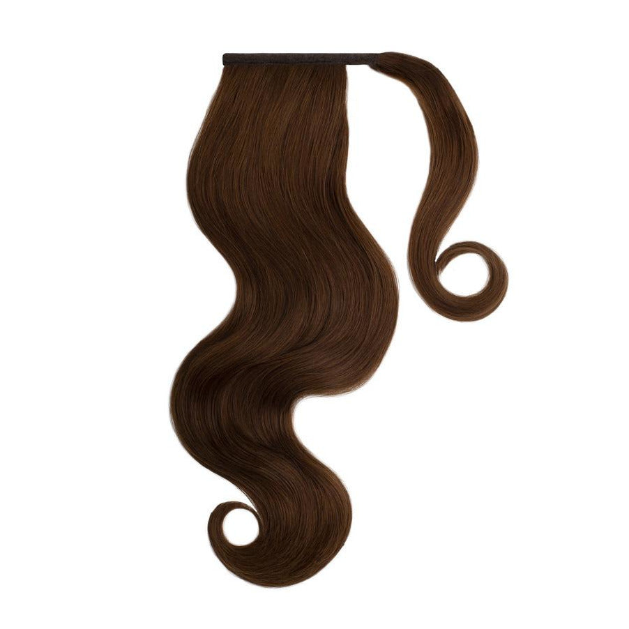 CHOCOLATE BROWN Remy Human Hair Ponytail