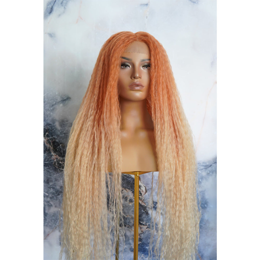 HALO Orange Ombre Lace Front Wig
