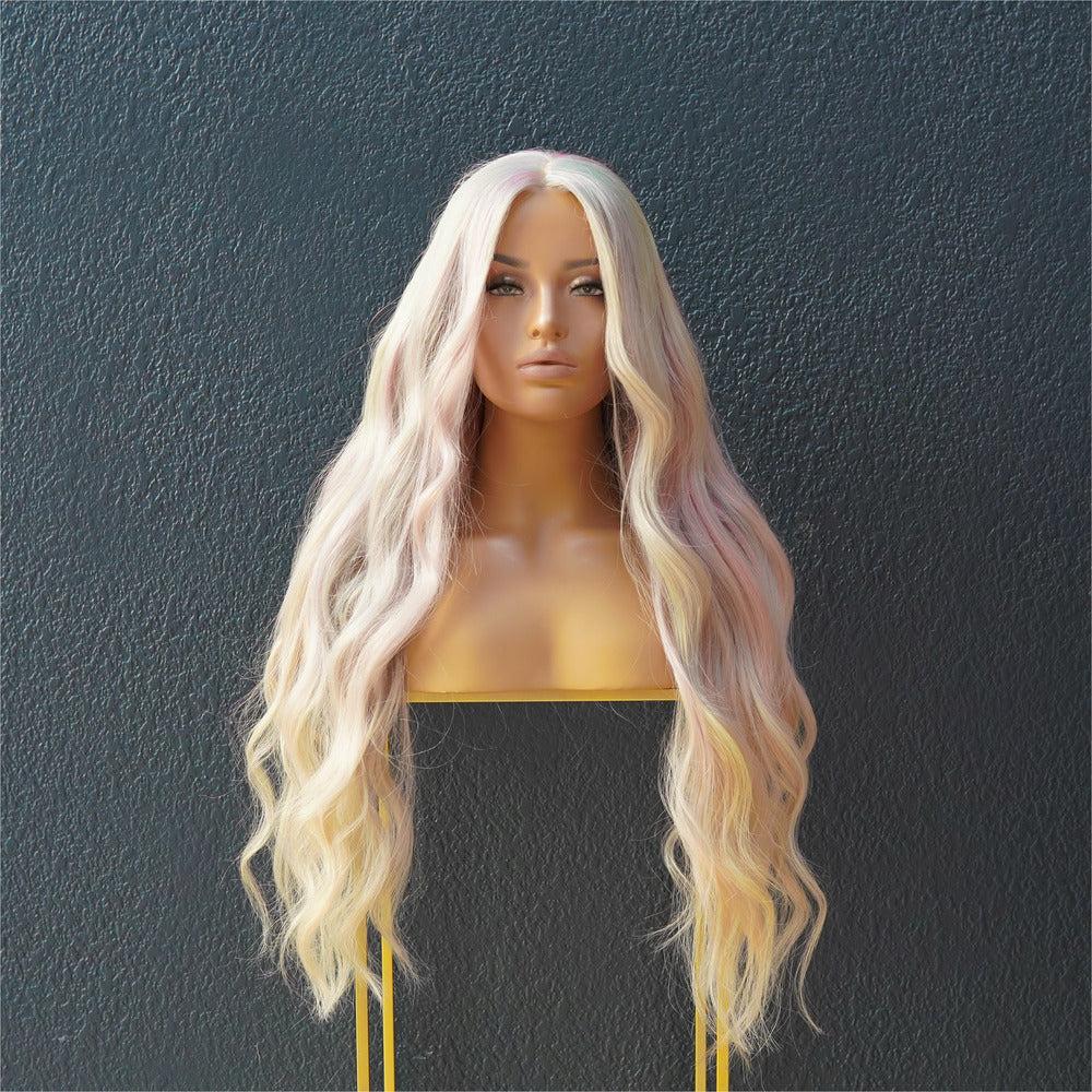 ARIANA Pastel Blonde Full Lace Wig