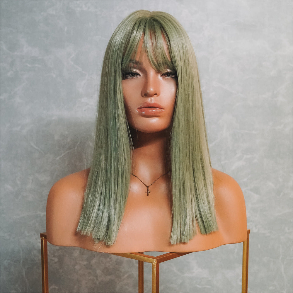 TAYLOR Moss Fringe Lace Front Wig
