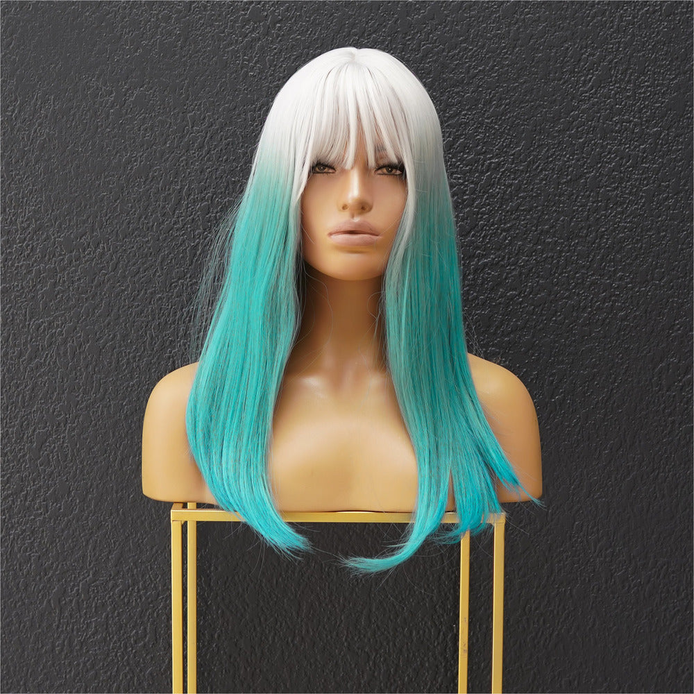 SONIC Blueberry Ombre Fringe Wig