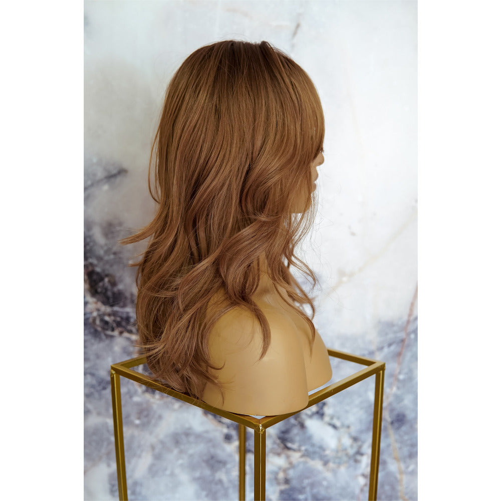ROXY Brown Fringe Wig