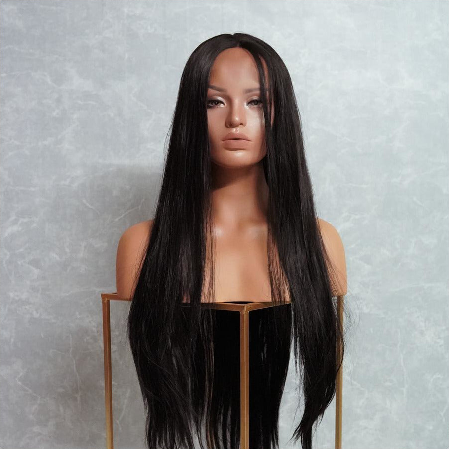 "EMMA 28"" Black Lace Front Wig"