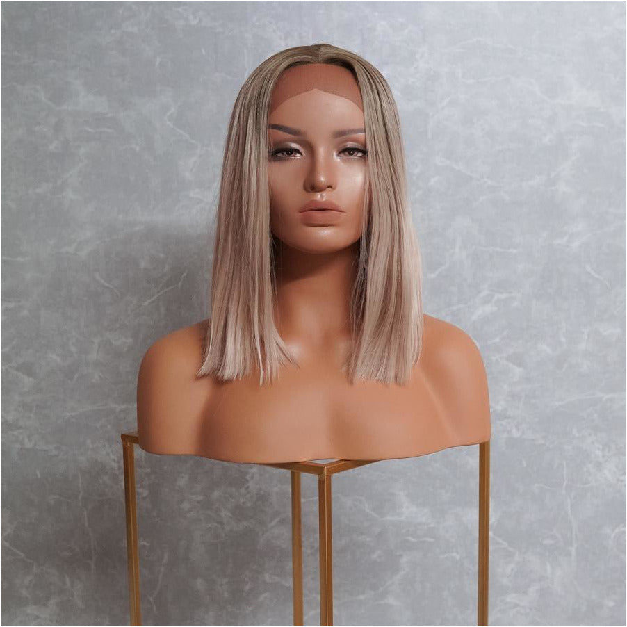 FOX Blonde Bob Lace Front Wig