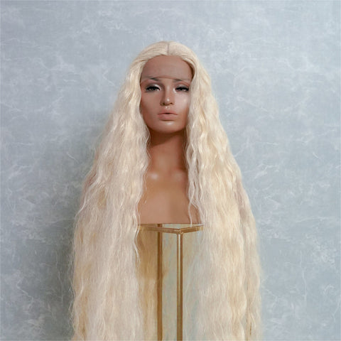 "CARDI 40"" Blonde Lace Front Wig"