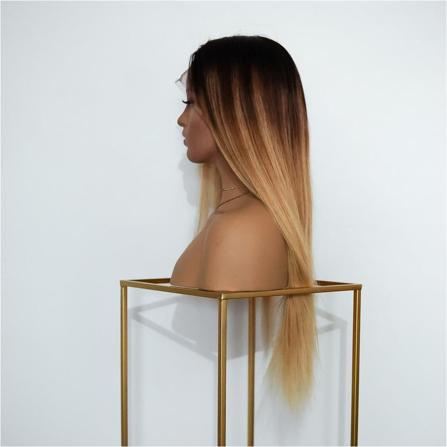 GEORGIA OMBRE Human Hair Full Lace Wig