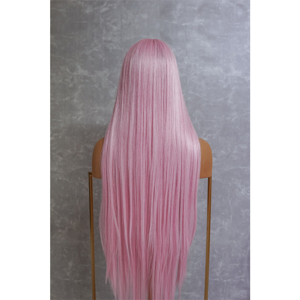 "ISABELLE Pink 30"" Lace Front Wig"