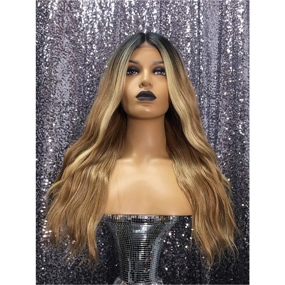 "Hayley 22"" Human Hair Full Lace Wig"
