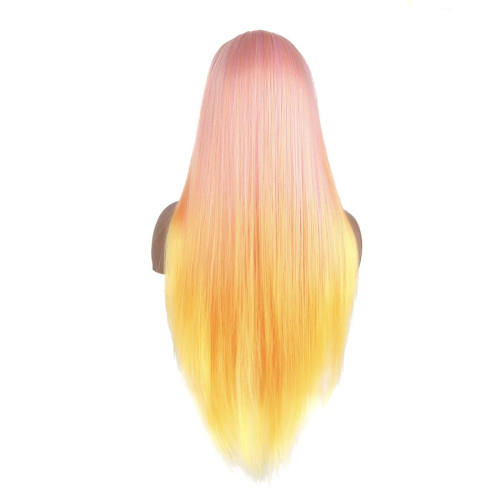 "Sunrise Pastel Straight 26"" Lace Front Wig"