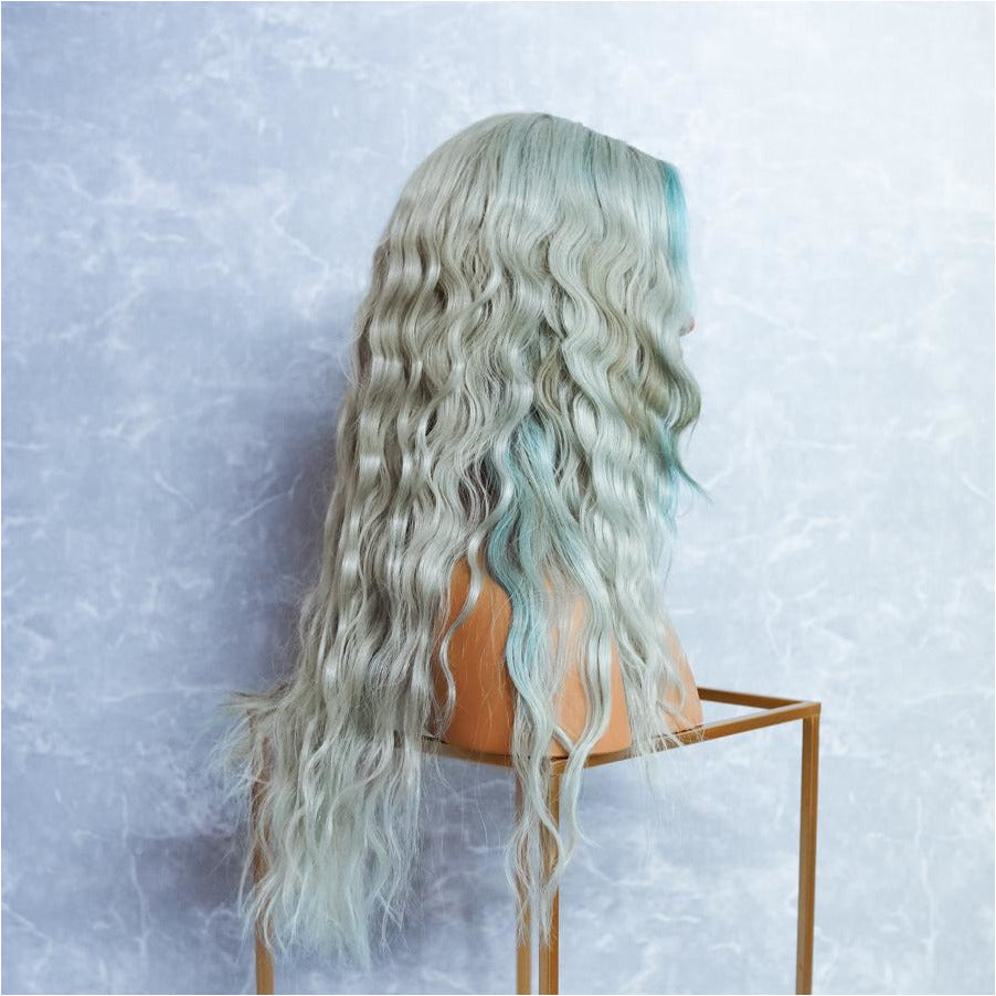 "Ice Mint 22"" Full Lace Wig"