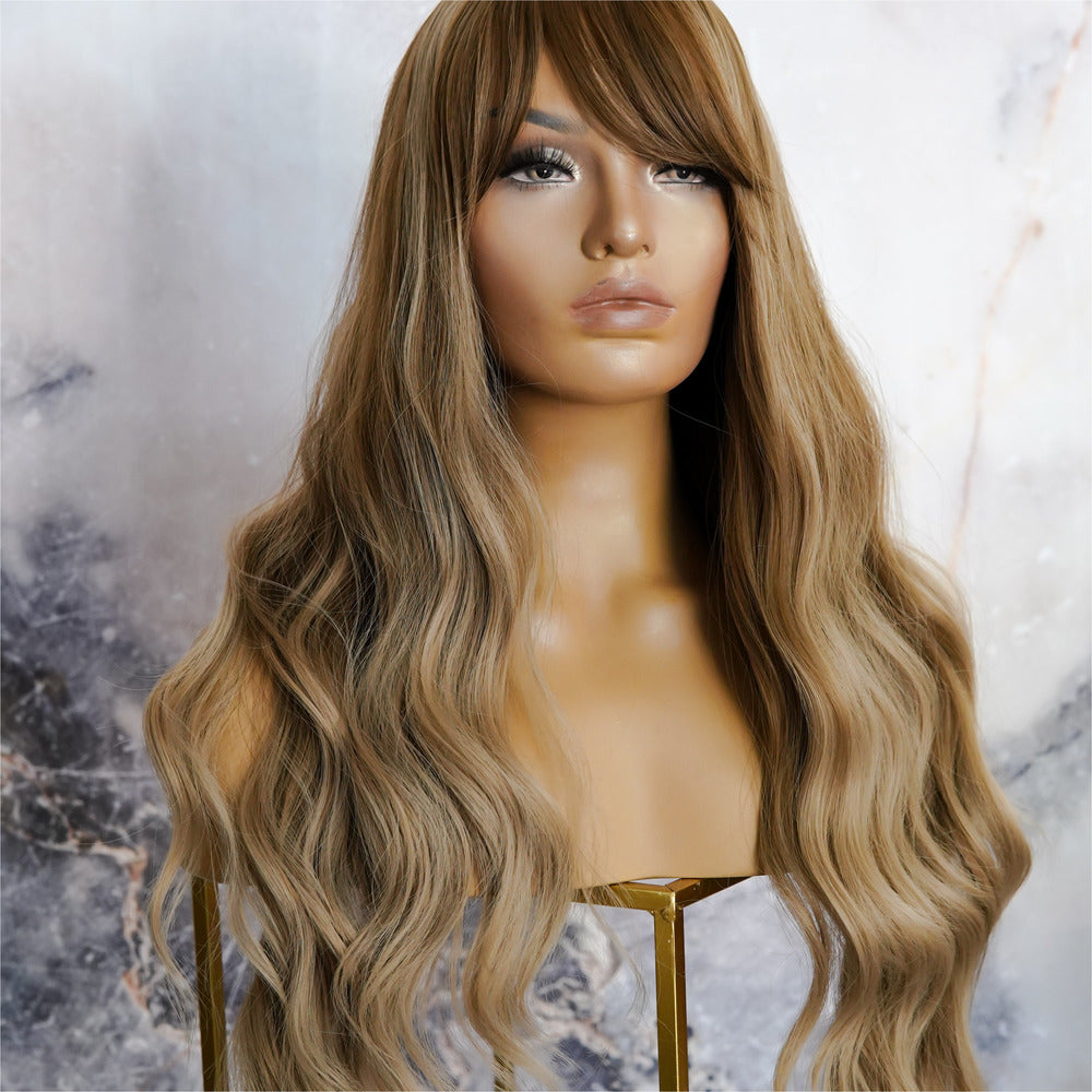 YASMIN Brown Ombre Fringe Wig