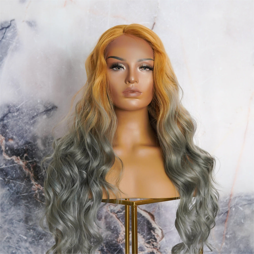 PIXIE Rainbow Ombre Lace Front Wig