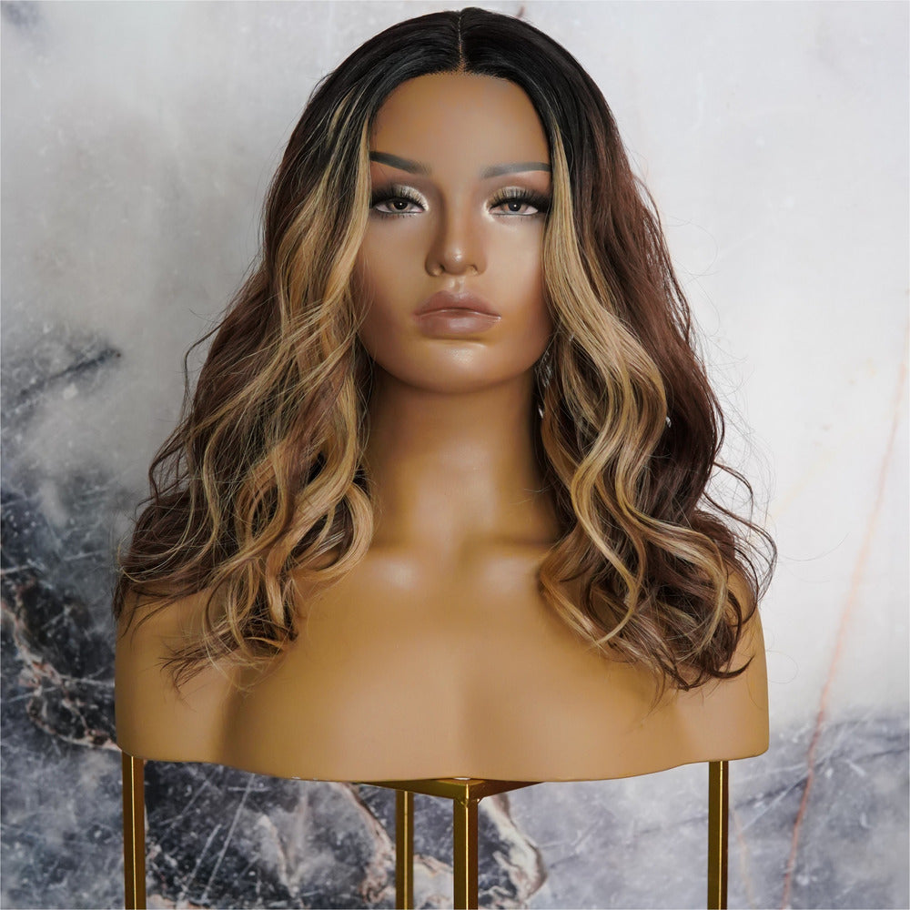 "LUCY Mocha 16"" Lace Front Wig"