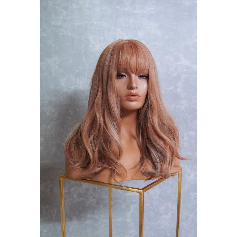 JAYLA Strawberry Blonde Fringe Wig