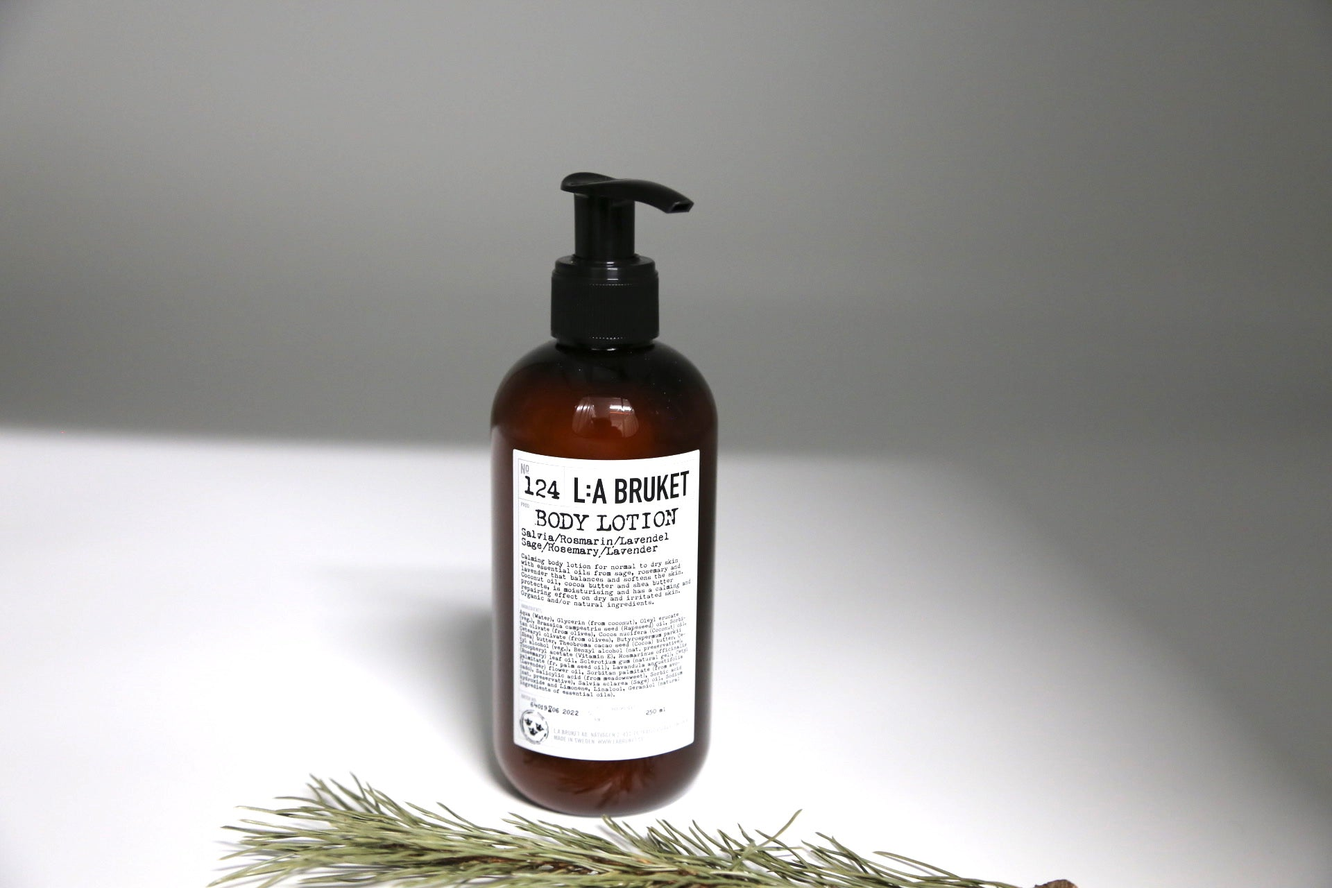 124 Body Lotion | Sage, Rosemary and Lavender - Noli
