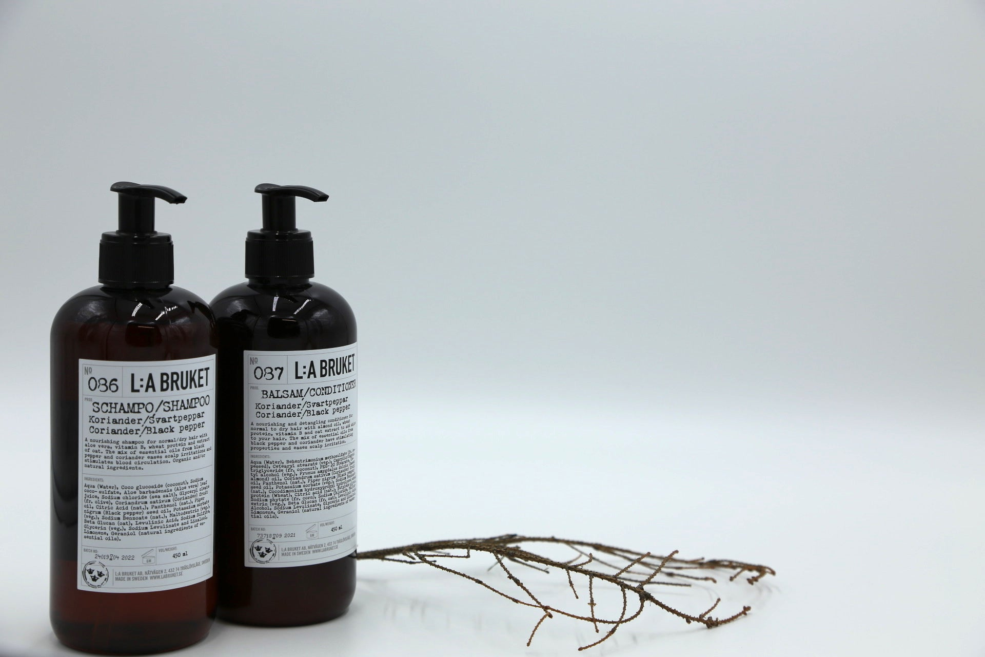 086 Shampoo | Coriander and Black Pepper - Noli