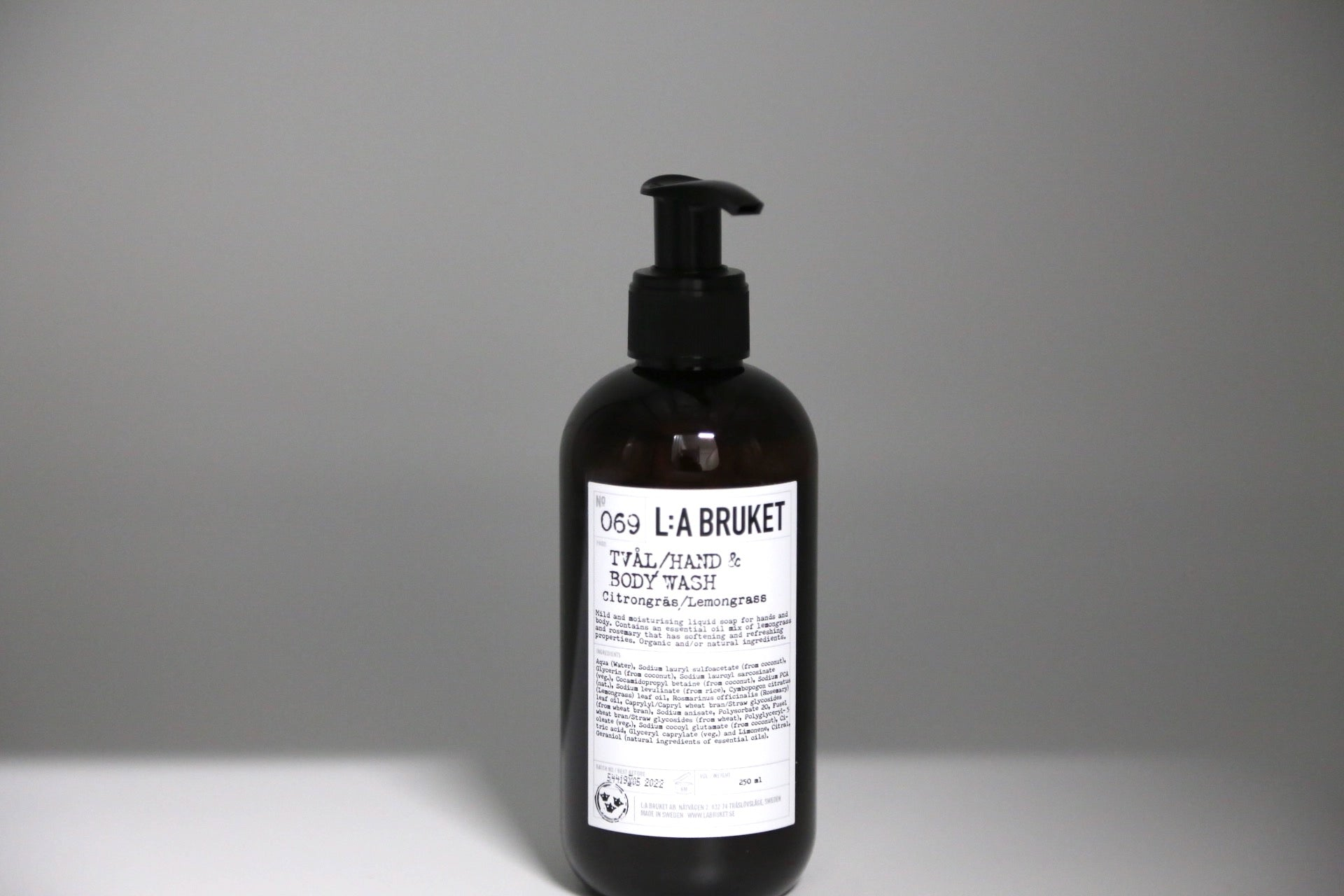 069 Hand & Body Wash | Lemongrass - Noli