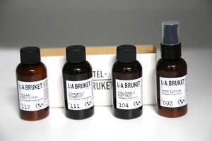 165 Body Travel Kit | Lemongrass, Bergamot & Patchouli - Noli