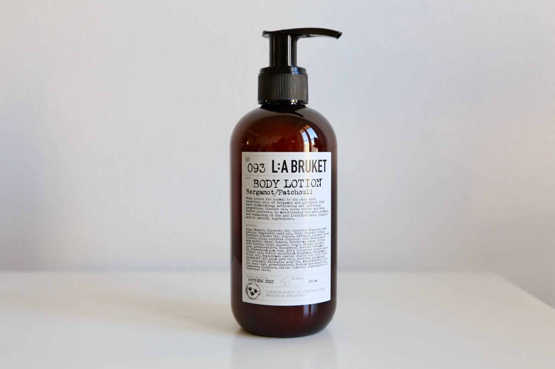 093 Body Lotion | Bergamot and Patchouli - Noli