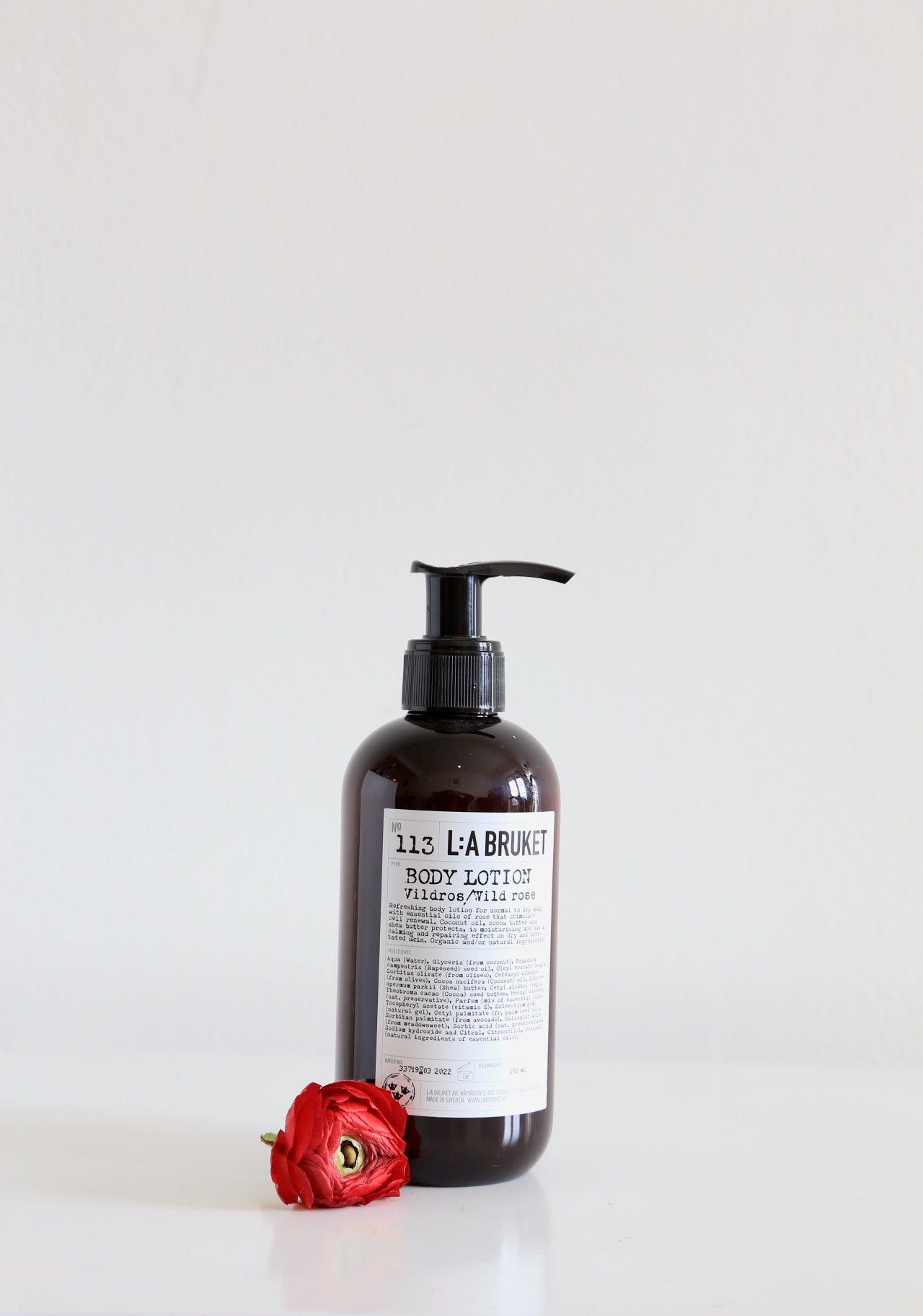 113 Body Lotion | Wild Rose - Noli