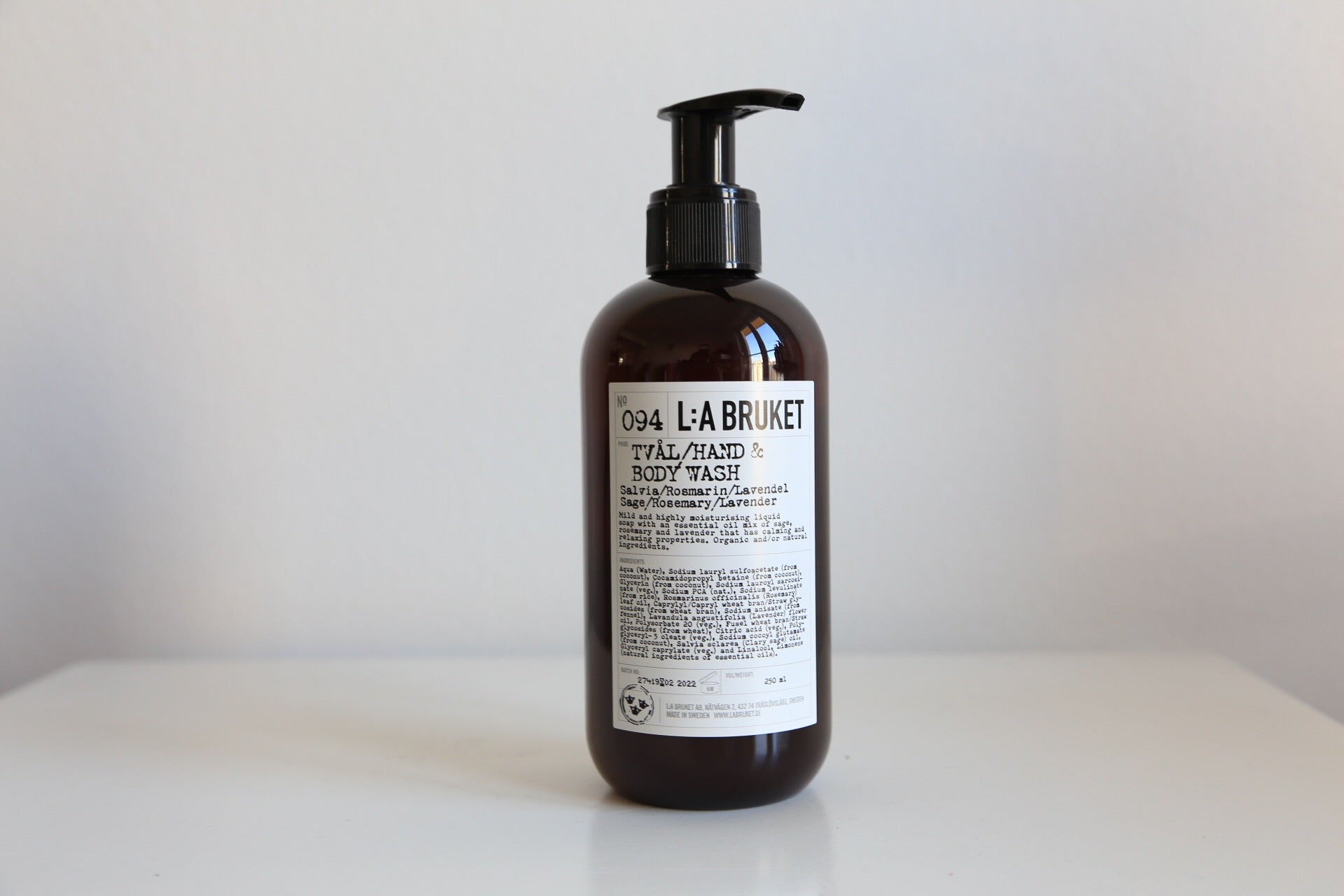 094 Hand & Body Wash | Sage, Rosemary and Lavender - Noli