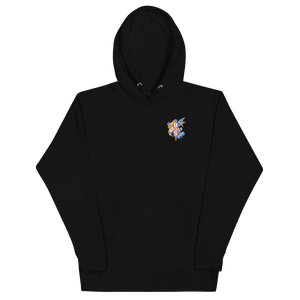 Infrared Angel Hoodie - Black