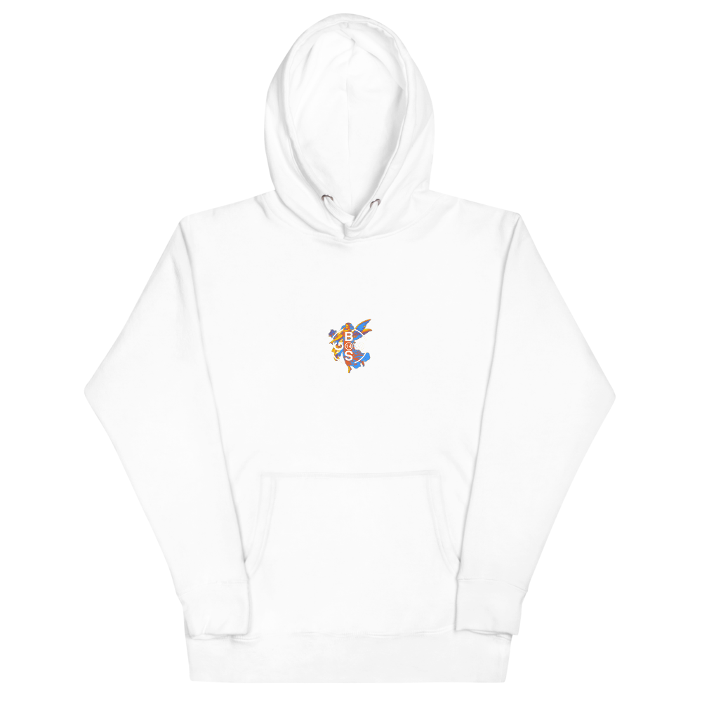 Infrared Angel Hoodie - White