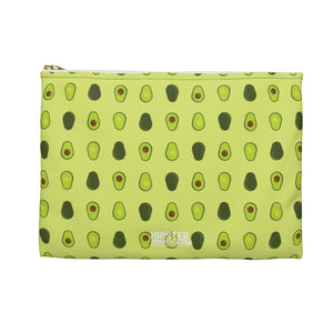 Avocado Pattern Accessory Zipper Pouch
