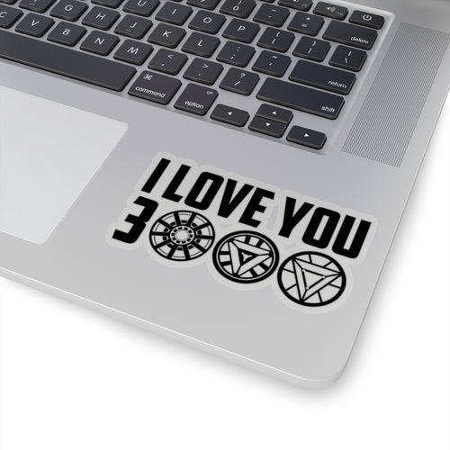 I Love You 3000 Avengers Endgame Sticker