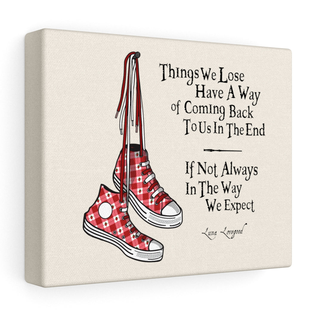 Things We Lose - Luna Lovegood Harry Potter Stretched Canvas