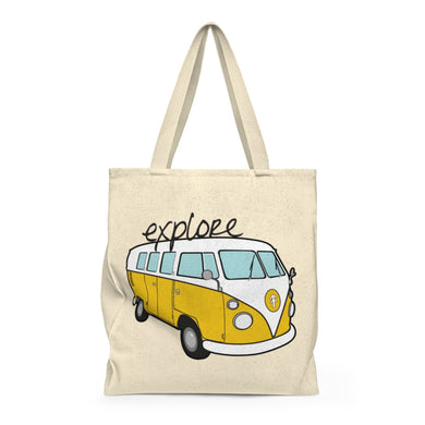 Explore Bus Shoulder Tote Bag - Roomy