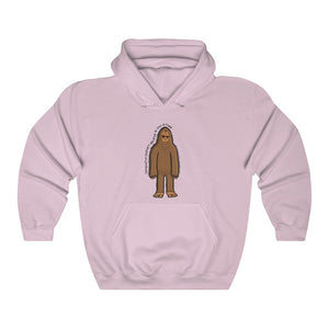 Sasquatch Doesn't Believe In You Either Hooded Sweatshirt