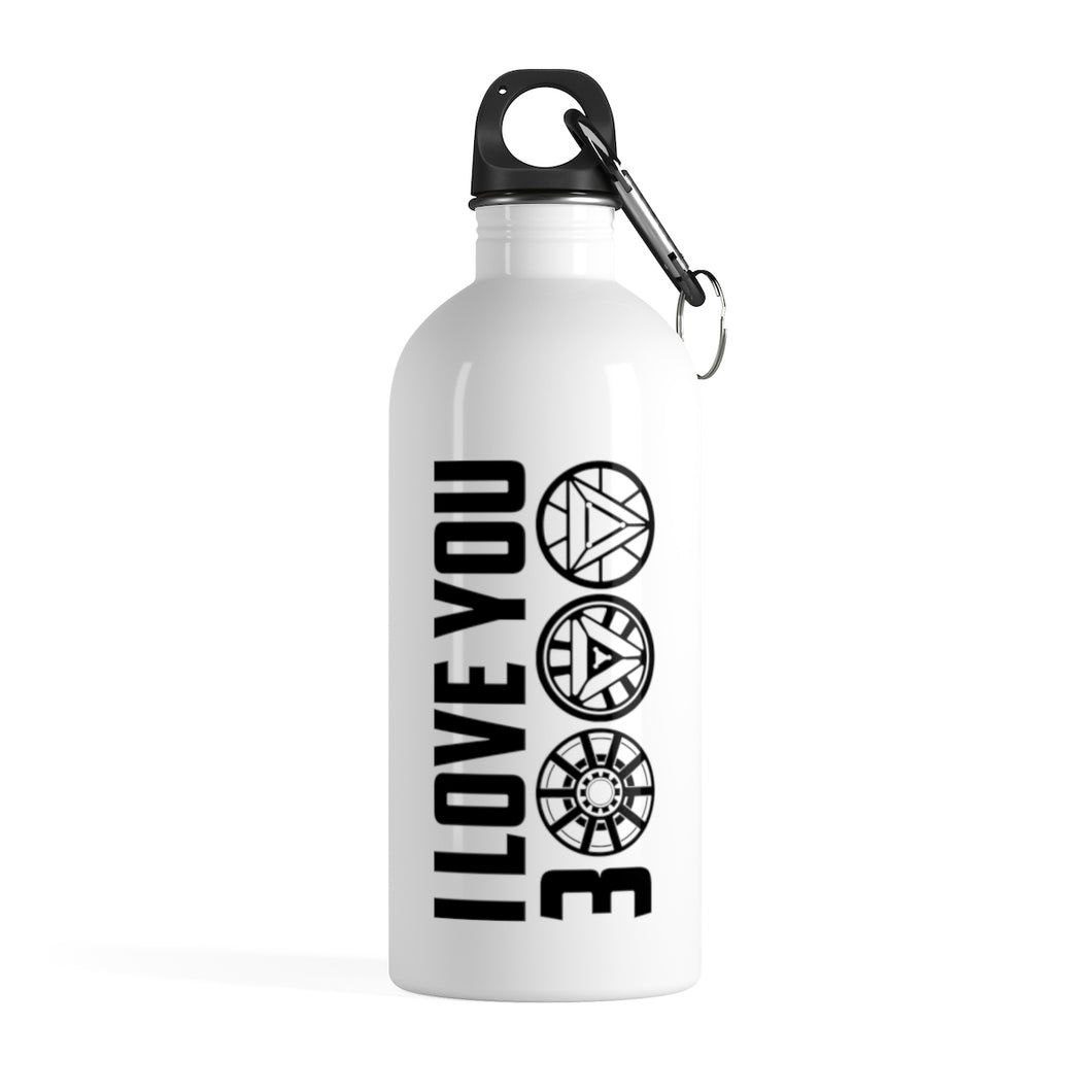 I Love You 3000 Iron Man Stainless Steel Water Bottle