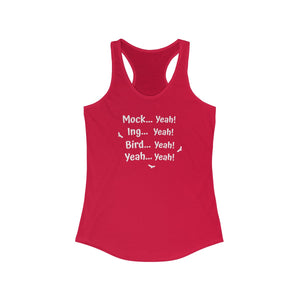Mock Yeah Dumb and Dumber Women's Racerback Tank