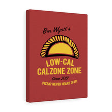 Load image into Gallery viewer, Ben Wyatt's Low-Cal Calzone Zone Canvas Wall Art
