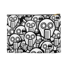 Load image into Gallery viewer, Robot Faces Accessory Zipper Pouch