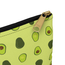 Load image into Gallery viewer, Avocado Pattern Accessory Zipper Pouch