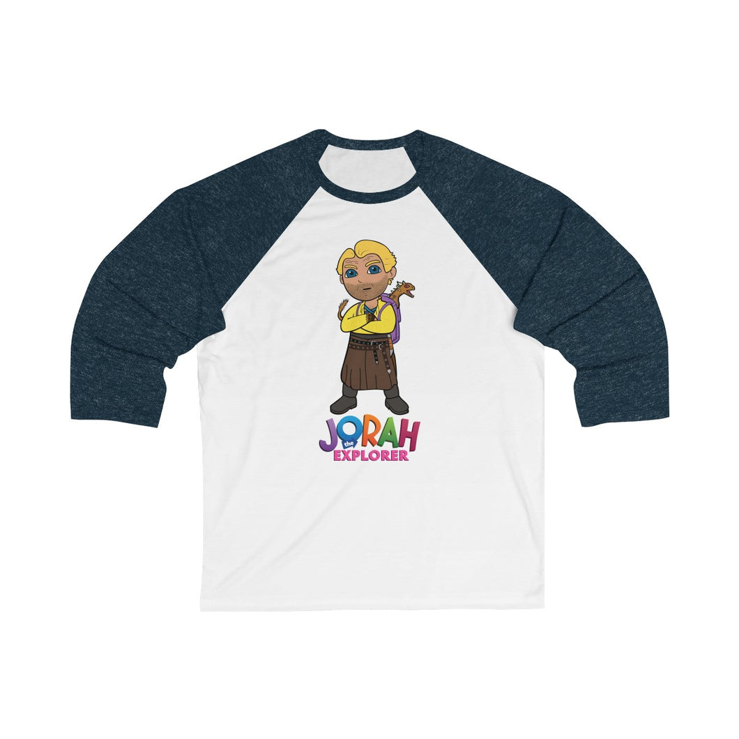 Jorah The Explorer Unisex 3/4 Sleeve Baseball Tee