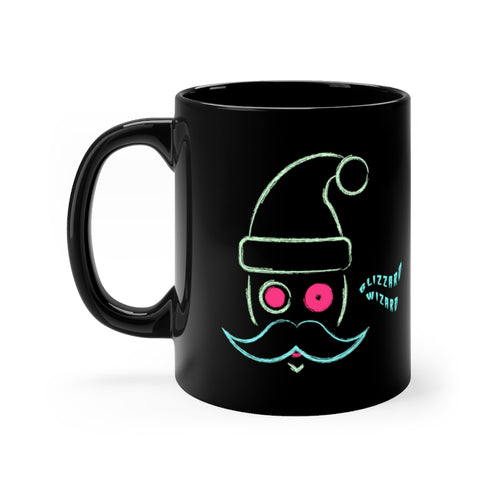 Blizzard Wizard Black Mug