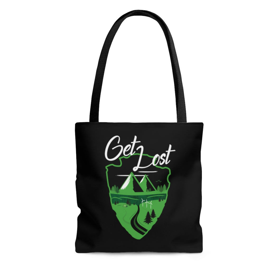 Get Lost Roadtrip Tote Bag