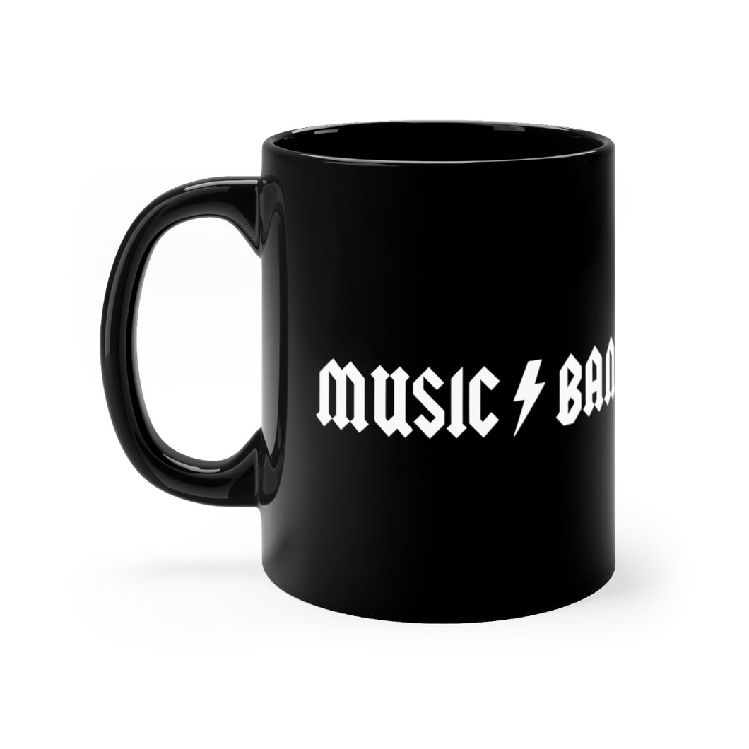 Music Band Black mug 11oz