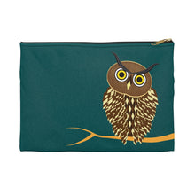 Load image into Gallery viewer, Owl Accessory Zipper Pouch