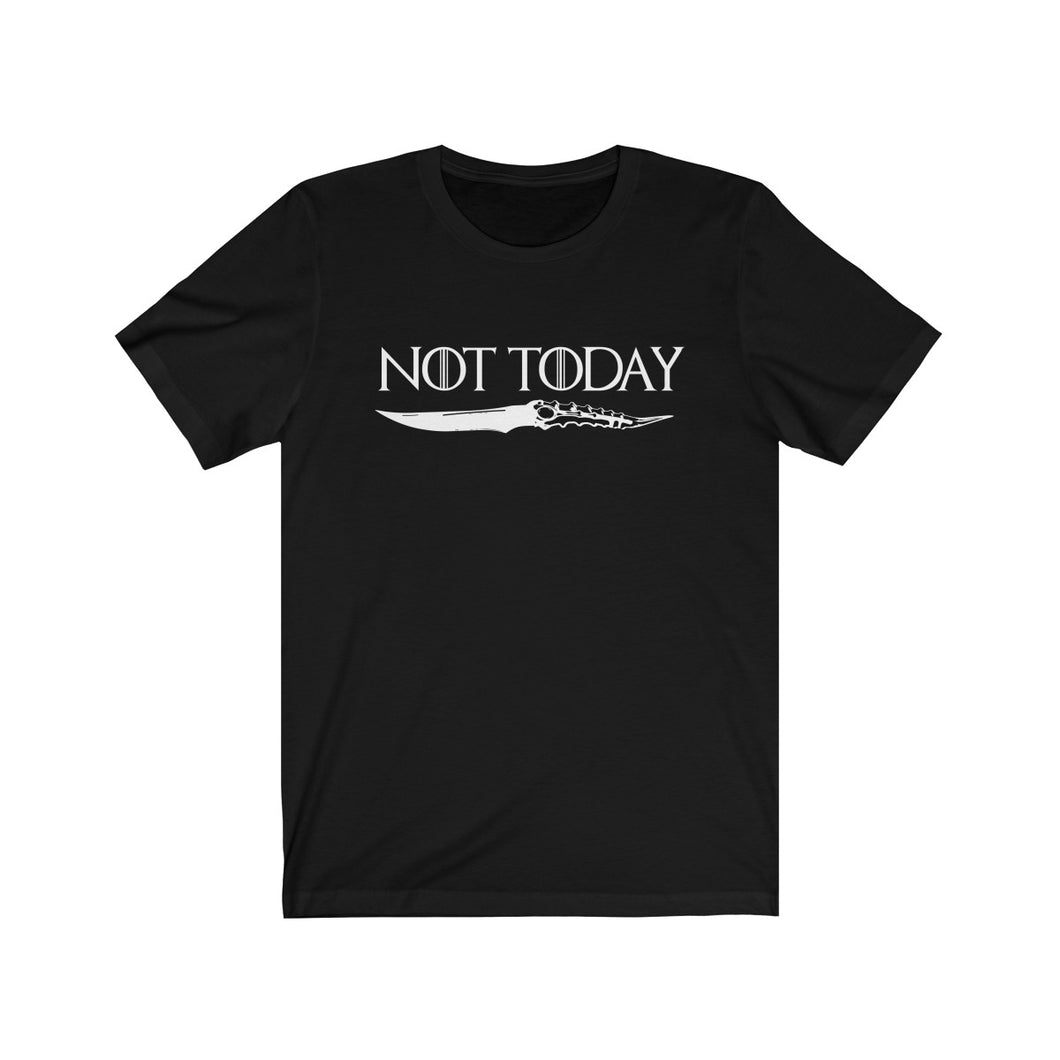Not Today Game of Thrones Short Sleeve Tee