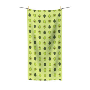 Avocado Polycotton Towel