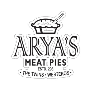 Arya's Meat Pies Sticker
