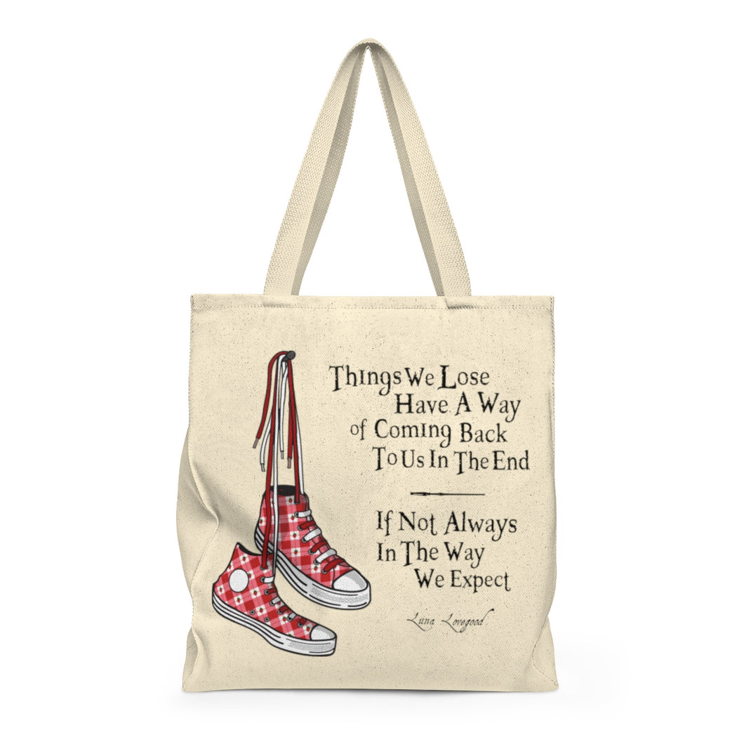 Things We Lose - Luna Lovegood Harry Potter Shoulder Tote Bag - Roomy
