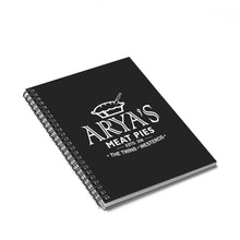 Load image into Gallery viewer, Arya's Meat Pies Game of Thrones Spiral Notebook