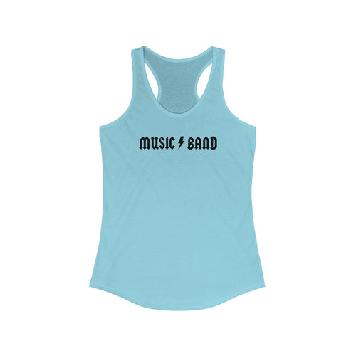 Music Band Women's Racerback Tank