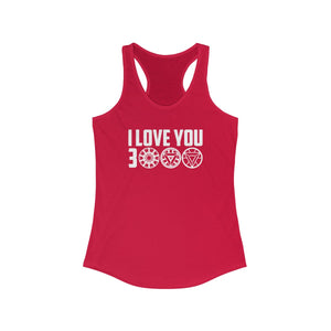 I Love You 3000 - Women's Racerback Tank